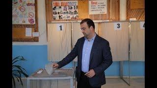 Врио Министра юстиции РД Ханлар Пашабеков исполнил свой гражданский долг в Дербенте
