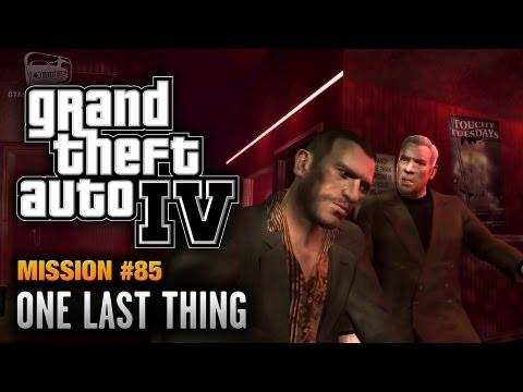 GTA 4 - Mission #85 - One Last Thing (1080p)