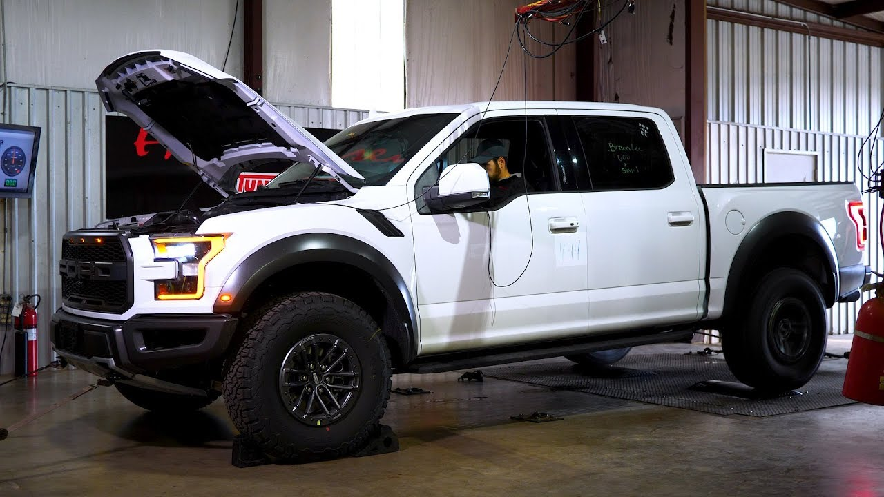 2019 Ford Raptor Baseline Chassis Dyno Test - YouTube