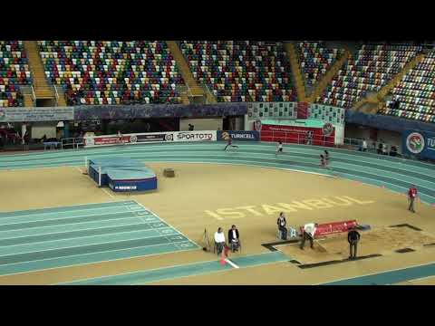İstanbul U18 Türkiye Salon Şampiyonası 200 metre kızlar14  seri