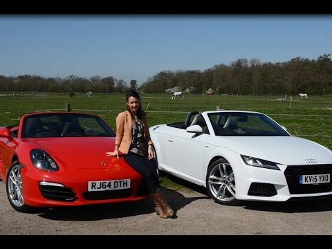 Audi TT Roadster vs Porsche Boxster 2015 | TELEGRAPH CARS