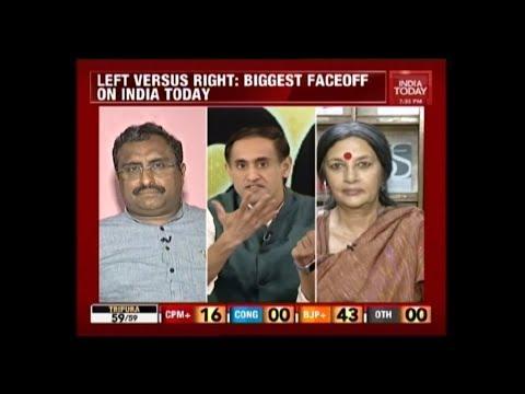 Ram Madhav Vs Brinda Karat Face Off On North East Poll Verdict | India Today Exclusive