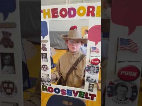 Theodore Roosevelt at Howe Manning School