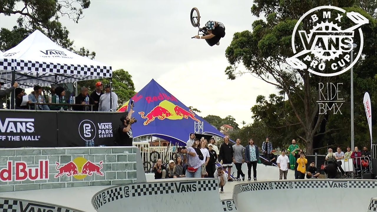 a15dc7e7f5 LARRY EDGAR WINS GOLD AT VANS BMX PRO CUP SYDNEY - YouTube