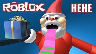Roblox | Santas Play Horror Gift | Escape Santa Obby | MinhMaMa