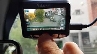 Telecamera auto doppia a 1080 Vikcam Dual Camera