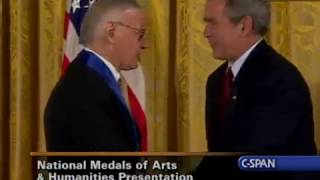 Stan Lee receives the National Medal of Arts and National Humanities (C-SPAN)