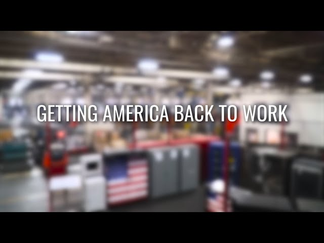Manufacturing in America: Getting America Back to Work