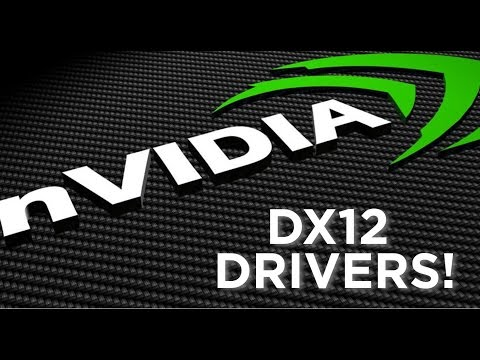 Nvidia DirectX 12 Drivers are here... Disappointing