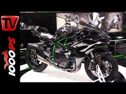 Kawasaki Ninja H2R | Bike Austria Tulln 2015