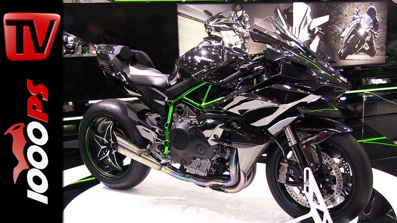 video kawasaki ninja h2r bike austria tulln 2015. Black Bedroom Furniture Sets. Home Design Ideas