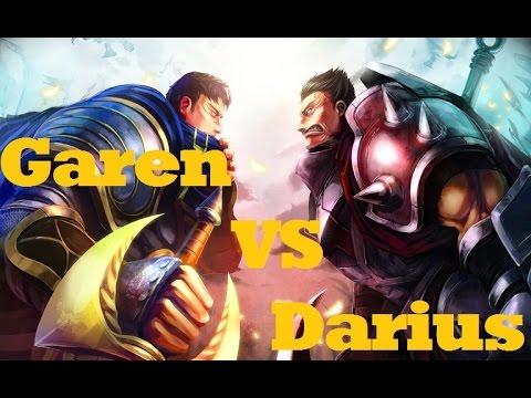 Garen VS Darius (how To Beat Darius): League Of Legends Guide