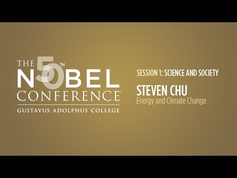 Steven Chu at Nobel Conference 50