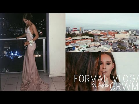 FORMAL/PROM GRWM VLOG | Kiv Agnew