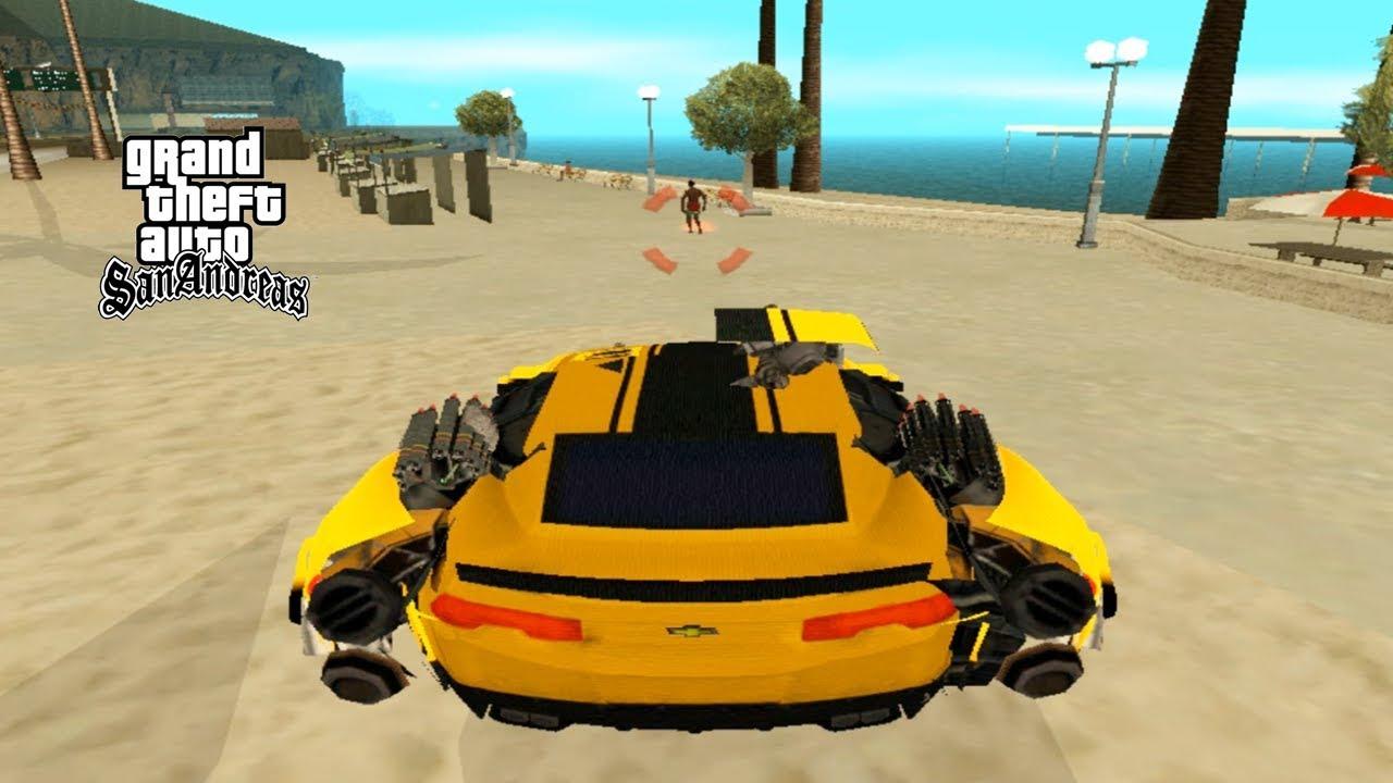Mobil Robot Transformer Keren Bisa Berubah Gta San Andreas Youtube