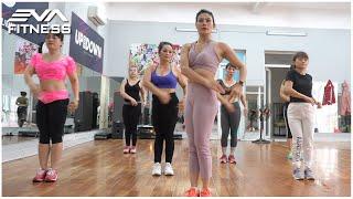 18 Mins Aerobic Dance Workout - AEROBIC CLASS - Eva Fitness