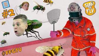 Фото ПРЕВРАТИЛСЯ в МУХУ и ПЧЕЛУ Симулятор ОТЛОВА НАСЕКОМЫХ от Ffgtv 2 в игре Slap The Fly