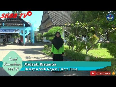 MULYATI RISTANTIA   129   LOMBA VIDEO TARTIL 1441 H   HADIAH JUTAAN RUPIAH   2020