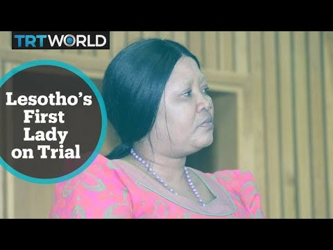 Lesotho's first lady Maesaiah Thabane on trial for allegedly killing PM's wife