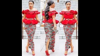 2019 Most Popular African Fashion Dresses: Beautiful Creative Fashion Styles