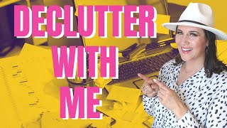 How I Made $55 In My 7 Day Declutter With Me Challenge | Decluttering and Organization