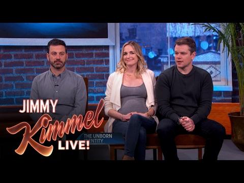 Who's The Baby Daddy: Jimmy Kimmel or Matt Damon? streaming vf