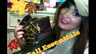 My Fall Essentials Thumbnail