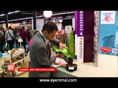 Eyenimal Intelligent Pet Bowl au journal de 20h sur France 2