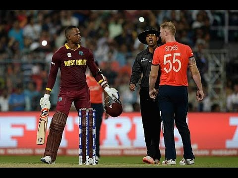 Marlon Samuels Fined For Abusing Ben Stokes