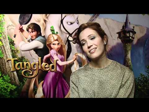 Mandy Moore talks about Tangled!