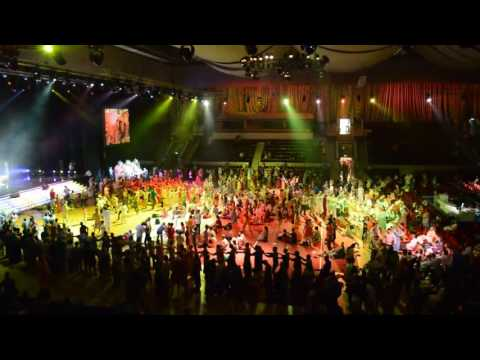 Видео: Индия без границ, Джанмаштами 2014, Москва, Лужники