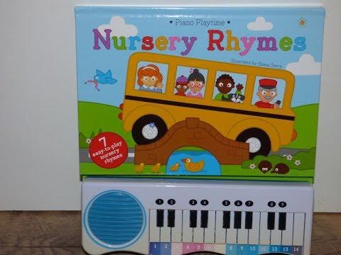 Piano Playtime Nursery Rhymes Aura Book