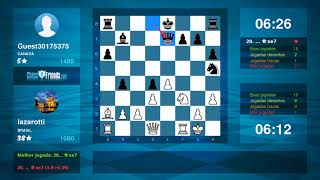 Chess Game Analysis: lazarotti - Guest30175375 : 1-0 (By ChessFriends.com)