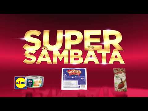 Super Sambata la Lidl • 13 Octombrie 2018