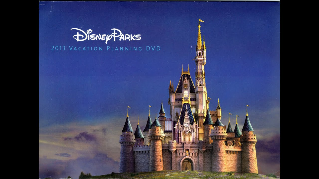 2013 Walt Disney World Vacation Planning Dvd