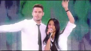 Anggun et Baptiste Giabiconi - La Bas (M6 Live Generation Goldman)