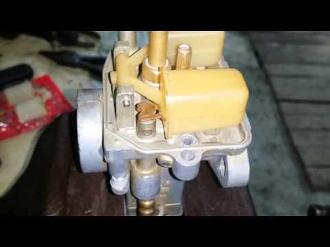 Регулировка уровня топлива в поплавковой камере К62-К65