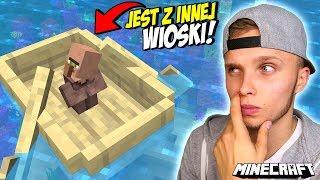Zabrałem BRZDĄCA z INNEJ WIOSKI w Minecraft! *problem*