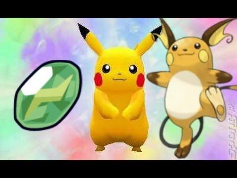 Pokémon Mystery Dungeon: Gates to Infinity - How to get a Thunderstone (Pikachu into Raichu)