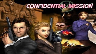 Retro game night with He Bot 8:Confidential Mission