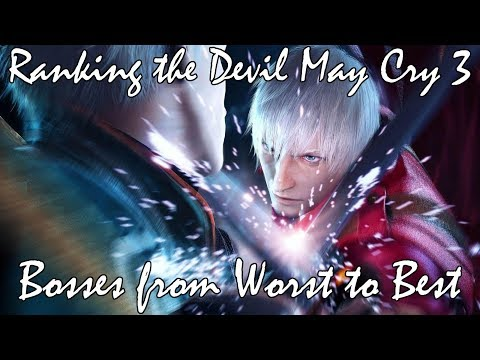 Ranking the Devil May Cry 3 Bosses from Worst to Best
