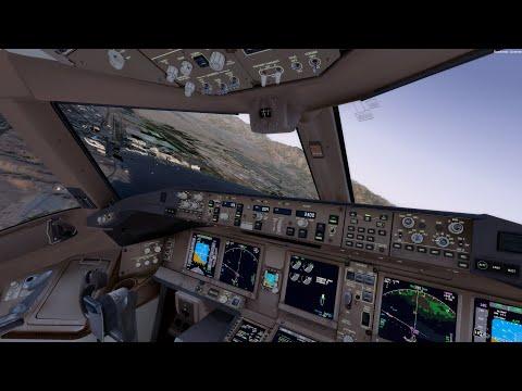 Long Haul! New York NY To Eilat Israel Cargo Flight (P3Dv4 777F)