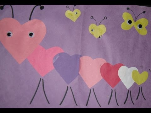 Valentines Day Arts and Crafts - Great Home Made Gift ...