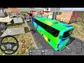 Bus Simulator Indonesia #17 CRAZY DRIVER! - Bus Game Android gameplay