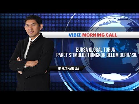 Bursa Global Turun, Paket Stimulus Tiongkok Belum Berhasil, Vibiznews 10 September 2015