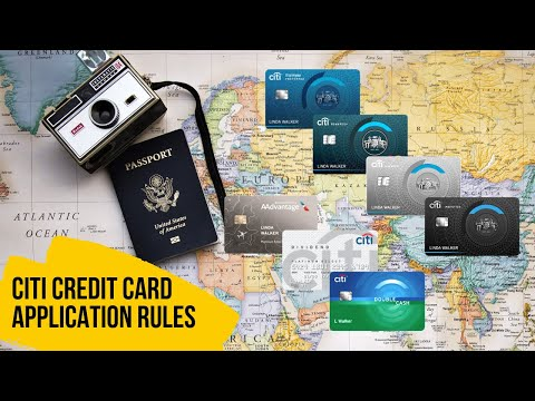 Rules To Know For Citi Credit Card Applications Year Rule