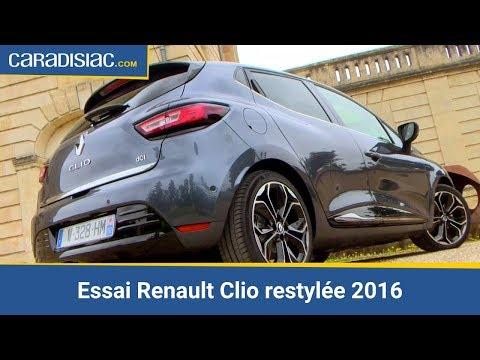 Essai Renault Clio restylée 2016 : confirmation de domination