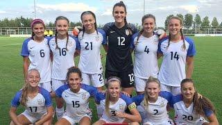 U-16 GNT vs. Netherlands: Highlights - Sept. 20, 2016