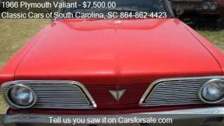1966 Plymouth Valiant for sale in Gray Court, SC 29645 at th