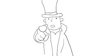 Draw Professor Layton